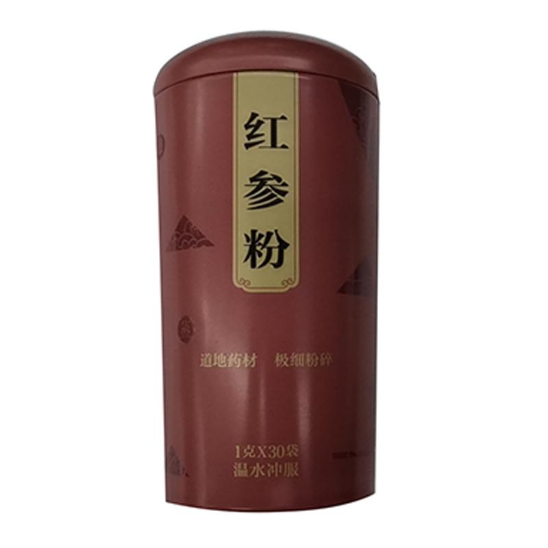 胡庆余堂 红参粉 1g*30袋